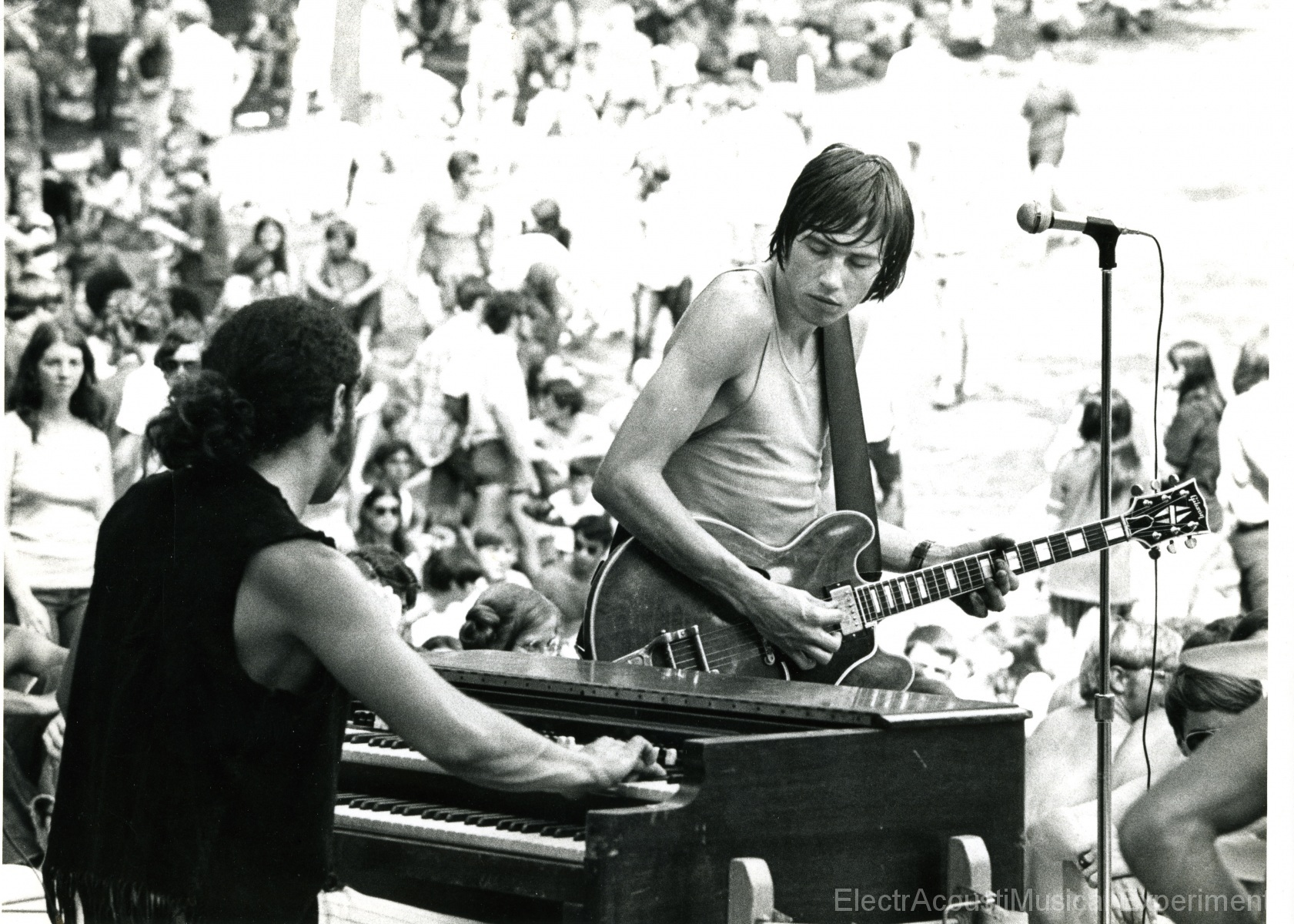 Wheatstraw with Craig Horner, organ Ron Dewitte, guitar